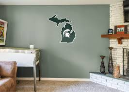 Mobel Wohnen Michigan State Spartans Ncaa Football Wall Decal Vinyl Sticker For Room Home Wandtattoos Wandbilder Avacapitalgroup Com