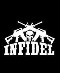 Punisher Rebel Nation Crossed Ar Vinyl Decal Stickers Sticker Flare Llc