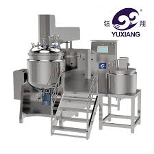 cream vacuum emulsifying mixer