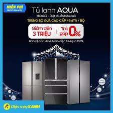 Tủ Lạnh Aqua - Khử mùi và diệt khuẩn... - Điện Máy Xanh Mini Hữu ...