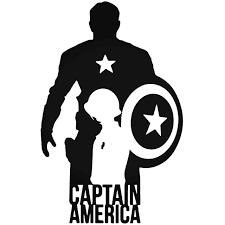 Avengers Captain America Vinyl Decal Sticker