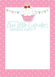 Cupcake Birthday Invitation Jpg 1 500 2 100 Pixeles Invitaciones Tarjetas De Invitacion Tarjeta