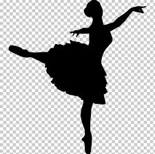 ballet dancer silhouette png clipart