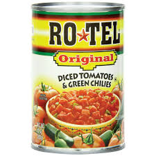 diced tomatoes green chilies by rotel