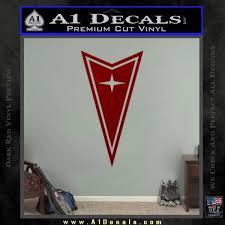Pontiac Arrow Decal Sticker A1 Decals