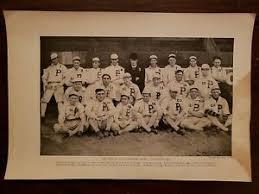 Portland Beavers 1910 HUGE Team Picture Insert Vean Gregg Ivy Olson Buddy  Ryan | eBay