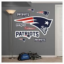 Nfl Fathead Junior Wall Decal 52 X 4 X 17 New England Patriots Target