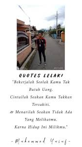 quotes lelaki home facebook