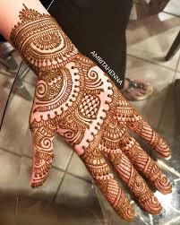 Bridal Simple Mehandi Design Photos