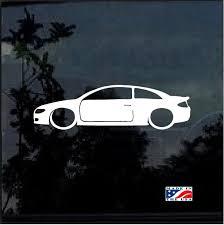 Toyota Solara Lowered Outline Window Decal Sticker Custom Sticker Shop