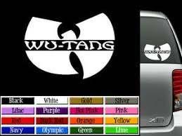 Large 16 Wu Tang Vinyl Decal Auto Graphics Window Sticker Method Man Wutang Ebay