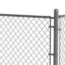 1 5 8 Galvanized Chain Link Fence Rail End Cap At Menards