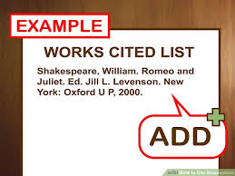 how to cite shakespeare pictures wikihow