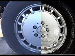 cleaning cars wheel acid wheels