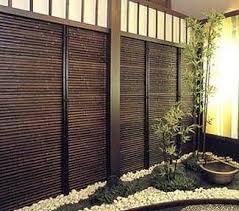 Black Bamboo Fence Fence Design Bamboo Fence Backyard Fences