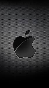 Apple Mac Brand Logo Dark خلفيات ايفون Iphone 6 Iphone 7 750x1334