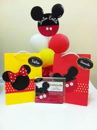 Fiesta Tematica De Mickey Mouse Y Minie Mouse Invitacion Bolsa