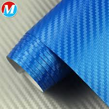 China Royal Blue 3d Texture Carbon Fiber Wrap Vinyl Decal For Car China Dark Blue Carbon Wrap 3d Blue Fiber Wrap