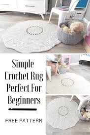 modern crochet rug patterns rag rug