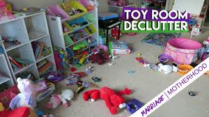 Toy Room Declutter I Donated 40 Of My Kids Toys Youtube
