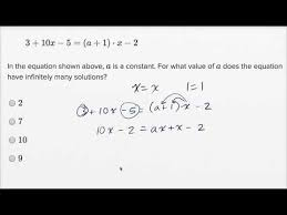 solving linear equations and linear