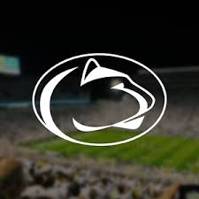 Penn State Nittany Lions Logo Car Decal Vinyl Sticker White 3 Sizes Fan Apparel Souvenirs Fan Apparel Souvenirs Sports Mem Cards Fan Shop
