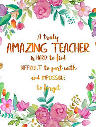 a truly amazing teacher is hard to quote teacher gift