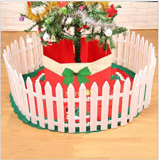 Christmas Cartoon Plastic Fence Freedom Split Joint White Enclosure Christmas Tree Fence Christmas Decoration Enclosure 30 12cm Holiday Decoration Holiday Decorations From Oppodo 0 46 Dhgate Com