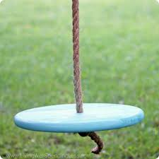 diy tree swing for kids living well