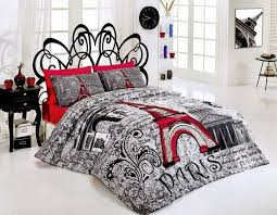 top ten paris themed bedding sets with