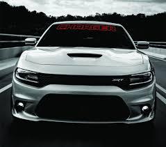 Product Dodge Charger Windshield Banner Decal 2011 2017 Hemi Rt Sxt Ralleye V6 V8
