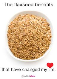 the flaxseed benefits that have changed