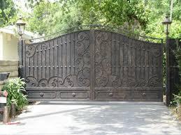 Wrought Iron Steel Custom Driveway Gates Wrought Iron Driveway Gates Iron Garden Gates Metal Driveway Gates