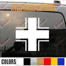 Iron Cross Of German Armed Forces Wehrmacht Car Decal Sticker Balkenkreuz Vinyl Decal Sticker Sticker Vinylvinyl Decals Stickers Aliexpress