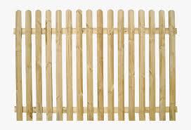 Wooden Picket Fence Transparent Background Garden And Picket Fence Clear Background Hd Png Download Kindpng