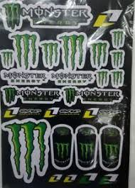 Monster Energy Quad Atv Buggy Dirt Bike Cart Decals Graphics Stickers Ebay