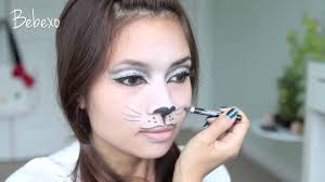 how to do a cat nose with makeup