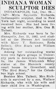 Myra Reynolds Richards death 1934 NY - Newspapers.com