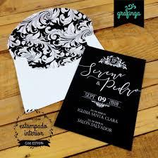 Invitaciones Linea 10 15 Tarjeta De Casamiento Tarjetas De