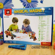 Mua Đồ chơi Xếp hình Nam Châm Trí Tuệ Thương hiệu Magical Magnet ...