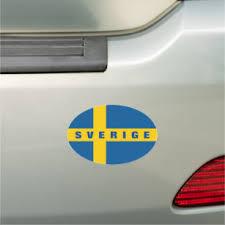 Sweden Bumper Stickers Decals Car Magnets Zazzle
