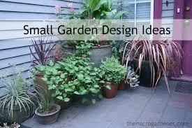 small garden design the micro gardener