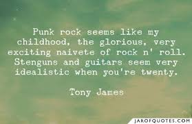 punk rock seems like my childhood the glorious very exciting