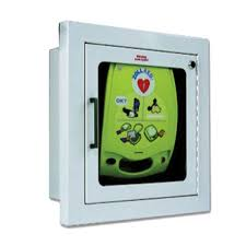 zoll aed plus flush wall mount box 8000