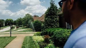 simple lawn sprinkler system