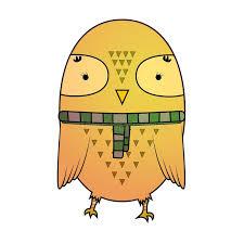 cute cartoon owl stock ilration