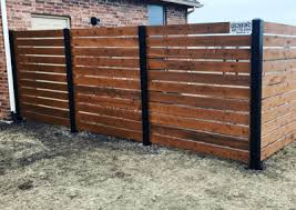Residential Fence Project Gallery Fence Okc Okc Fence Contractor