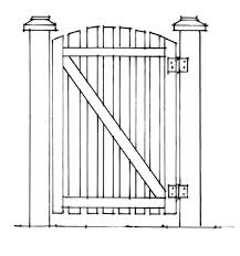 Recommended Ways To Build A Strong Fence And Gate Old House Journal Magazine