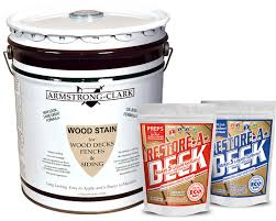 Armstrong Clark Stain 5 Gallon Restore A Deck Cleaner Combo Kit