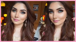 party makeup glitter glam long